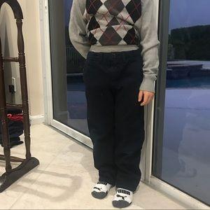 Burberry blue pants trousers boys  size 5